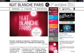 Nuit Blanche 2011 - Mairie de Paris